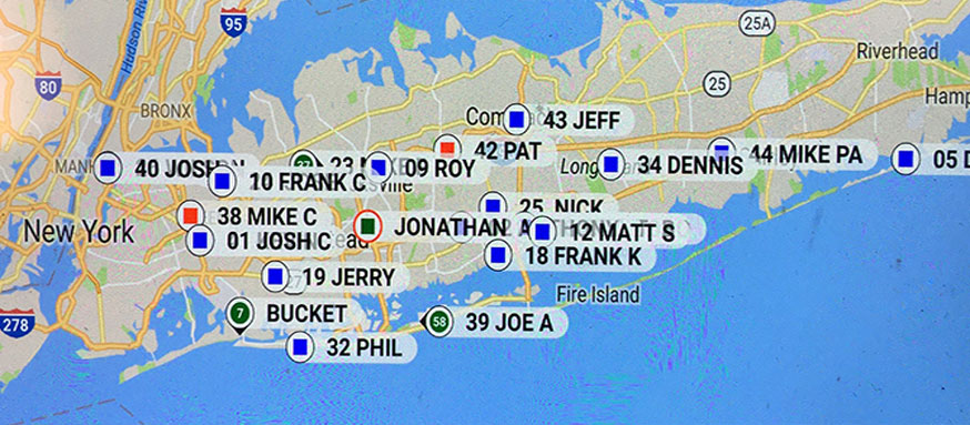 Allways Electric Locations Map